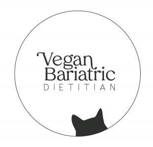 vegan bariatric dietitian logo