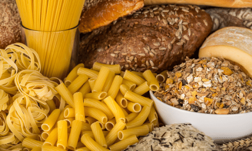 pasta, bread, and oats. foods to avoid on a vegan bariatric pureed diet